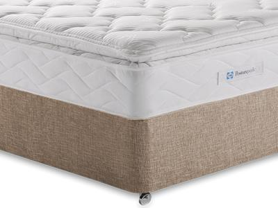 Sealy Millionaire Luxury 5 King Size Mattress with Executive Biscuit King Size No Drawers Divan Set