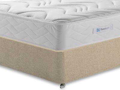 Sealy Millionaire Memory 3 Single Mattress with Classic Mink Single Slide Store Divan Set