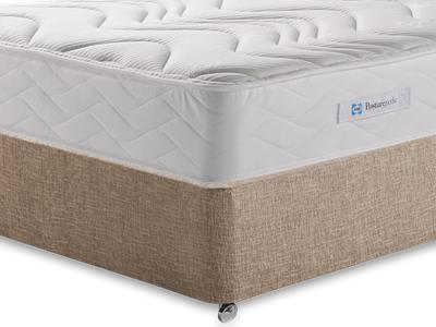 Sealy Millionaire Memory 4 6 Double Mattress with Executive Biscuit Double No Drawers Divan Set
