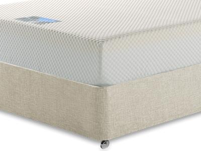 Healthosleep Apollo 3 Single Mattress with Executive Barley Single 0 Drawer Divan Set
