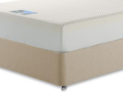 Healthosleep Apollo 4 6 Double Mattress with Executive Sandstone Double 4 Drawer Divan Set