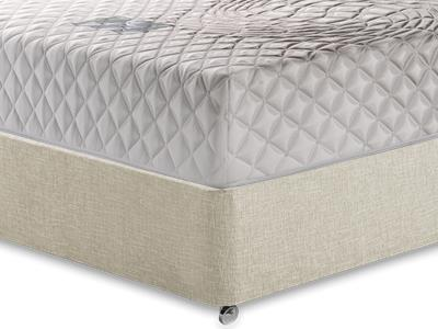Healthosleep Discovery 3 Single Mattress with Executive Barley Single 0 Drawer Divan Set