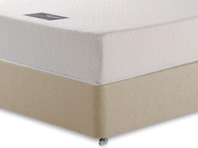 Healthosleep Enterprise 4 6 Double Mattress with Executive Sandstone Double 4 Drawer Divan Set
