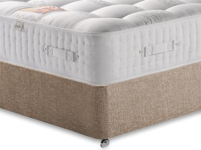British Bed Company The Grand Duke (Medium) 4 Small Double with Executive Biscuit Small Double No Drawers Divan Set
