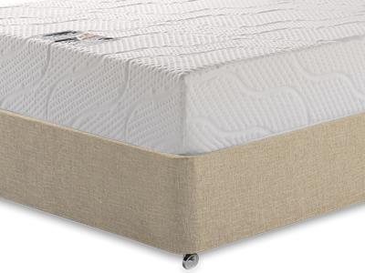 Healthosleep Voyager 3 Single Mattress with Classic Mink Single Slide Store Divan Set