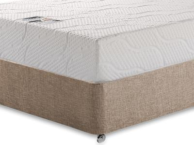 Healthosleep Voyager 4 Small Double Mattress with Executive Biscuit Small Double No Drawers Divan Set