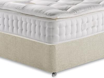 Healthopaedic Diplomat 3000 4 6 Double Mattress with Executive Barley Double 0 Drawer Divan Set