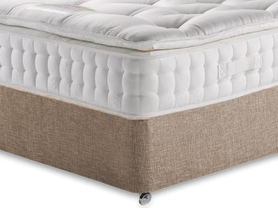 Healthopaedic Diplomat 3000 4 6 Double Mattress with Executive Biscuit Double No Drawers Divan Set