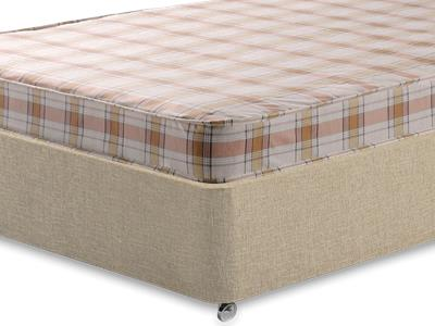 Snuggle Beds Snuggle Eco 3 Single Mattress with Classic Mink Single Slide Store Divan Set