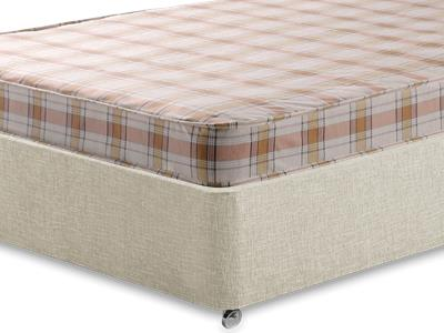 Snuggle Beds Snuggle Eco 4 Small Double Mattress with Executive Barley Small Double 0 Drawer Divan Set