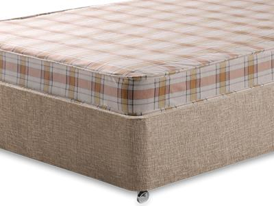 Snuggle Beds Snuggle Eco 4 Small Double Mattress with Executive Biscuit Small Double No Drawers Divan Set