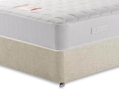 British Bed Company Anniversary Pocket Ortho (Medium-Firm) 3 Single with Executive Barley Single 0 Drawer Divan Set