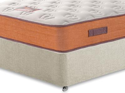 British Bed Company The Nook Mattress 3 Single with Executive Barley Single 0 Drawer Divan Set