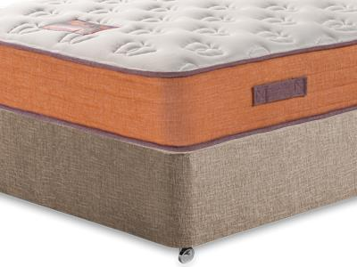 British Bed Company The Nook Mattress 4 Small Double with Executive Biscuit Small Double No Drawers Divan Set