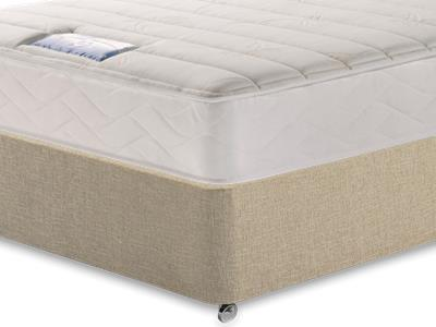 Sealy Millionaire Plush 3 Single Mattress with Classic Mink Single Slide Store Divan Set