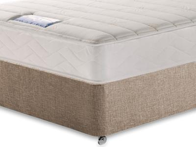 Sealy Millionaire Plush 5 King Size Mattress with Executive Biscuit King Size No Drawers Divan Set