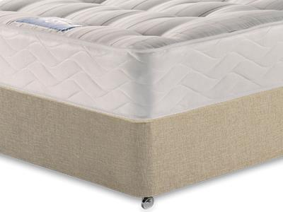 Sealy Millionaire Backcare 3 Single Mattress with Classic Mink Single Slide Store Divan Set