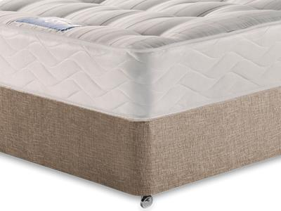Sealy Millionaire Backcare 5 King Size Mattress with Executive Biscuit King Size No Drawers Divan Set