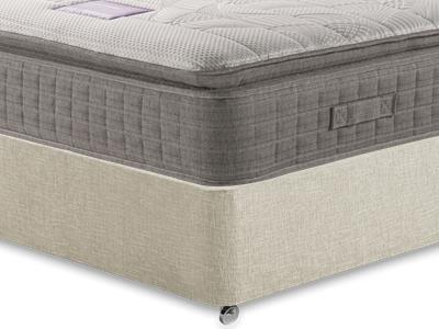 Restopaedic Restapillow Comfort 3 Single Mattress with Executive Barley Single 0 Drawer Divan Set