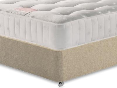 Restopaedic Restapocket 850 3 Single Mattress with Classic Mink Single Slide Store Divan Set