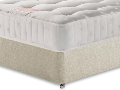 Restopaedic Restapocket 850 3 Single Mattress with Executive Barley Single 0 Drawer Divan Set