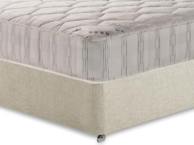 Shire Beds Shire Quilt 3 Single Mattress with Executive Barley Single 0 Drawer Divan Set