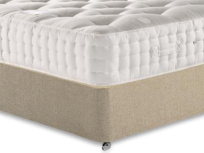 Relyon Monaco 4 6 Double Mattress Only Mattress with Classic Mink Double Slide Store Divan Set