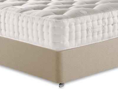 Relyon Monaco 4 6 Double Mattress Only Mattress with Executive Sandstone Double 4 Drawer Divan Set