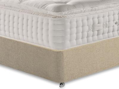 Relyon Valencia 4 6 Double Mattress Only Mattress with Classic Mink Double Slide Store Divan Set