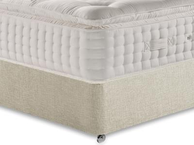Relyon Valencia 4 6 Double Mattress Only Mattress with Executive Barley Double 0 Drawer Divan Set