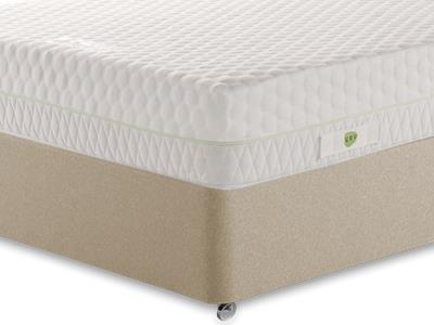 Breasley You (Perfect No.10) 4 6 Double Mattress Only Mattress with Executive Sandstone Double 4 Drawer Divan Set