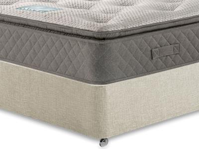 Restopaedic Restapillow 1200 3 Single Mattress Only Mattress with Executive Barley Single 0 Drawer Divan Set