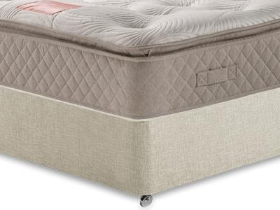 Restopaedic Restapillow 1400 3 Single Mattress Only Mattress with Executive Barley Single 0 Drawer Divan Set
