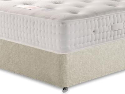 Sleepeezee Backcare Supreme 2000 3 Single Mattress Only Mattress with Executive Barley Single 0 Drawer Divan Set