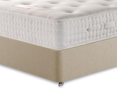 Sleepeezee Backcare Supreme 2000 4 6 Double Mattress Only Mattress with Executive Sandstone Double 4 Drawer Divan Set