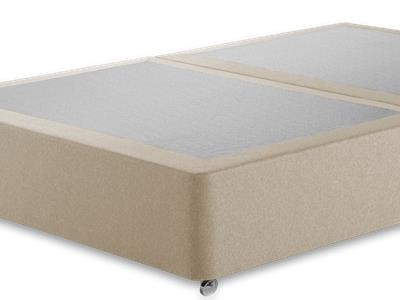 Buy quality small double base only divans at mattressman for Double divan base with drawers