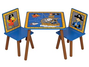 Pirate Table & Chairs