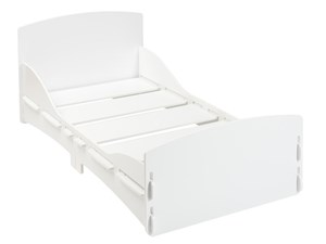 Shorty Junior Bed White