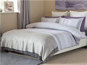 Dash Duvet Set Mauve