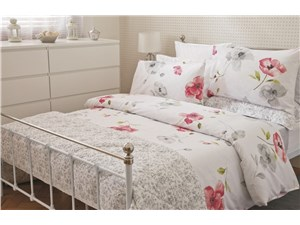 Ruby Duvet Set White