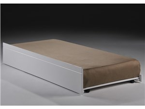 Heartlands Furniture Tripoli Trundle Small Single Bunk Bed