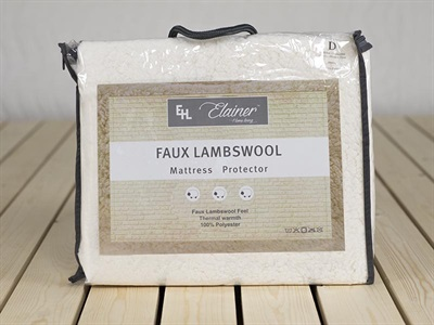 Elainer Faux Lambswool Protector 3' Single Protector