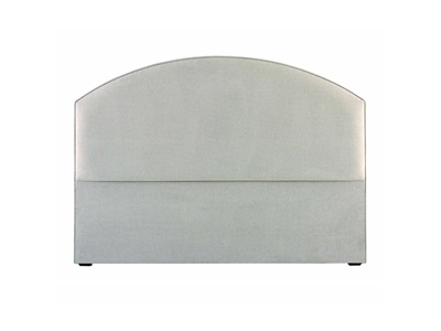 Hypnos Florence - Strutted 4 6 Double Panama Grey Headboard Only Fabric Headboard