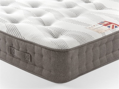 British Bed Company Cotton Pocket 1000 4 6 Double