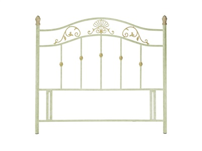 Bentley Designs Angelica Fossilstone 3 Single Fossilstone Headboard Only Metal Headboard