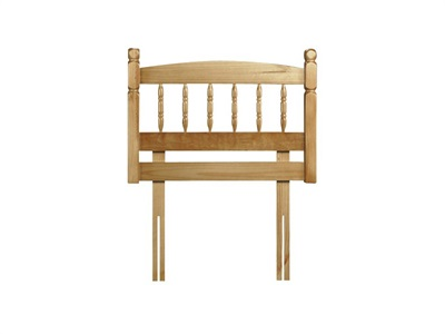 Julian Bowen Pickwick 3 Single Natural Headboard Only. Wooden Headboard