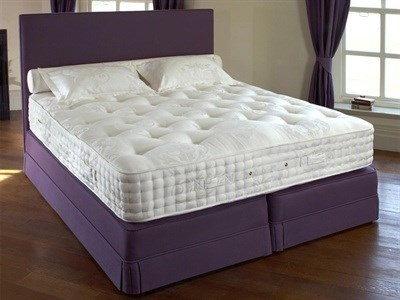 Relyon Status (Firm) Divan Set  4 6 Double Platinum 3297 Pocket Sprung - No Drawers Divan