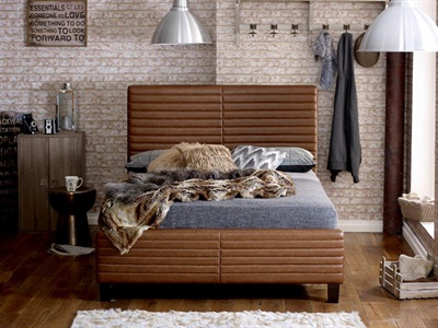 Limelight Himalia 4 6 Double Leather Bed