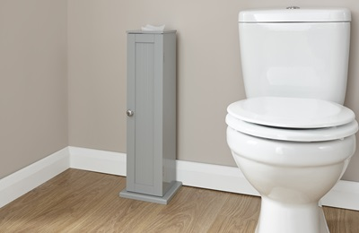 Product photograph showing Colonial Toilet Roll Cupboard