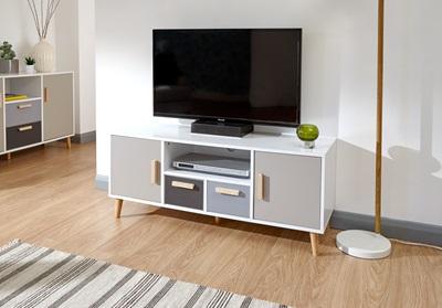 Product photograph showing Delta Large Tv Unit
